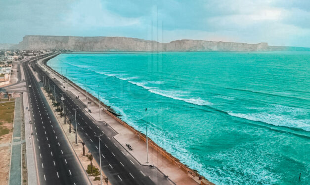 Gwadar Road Project is Almost Complete